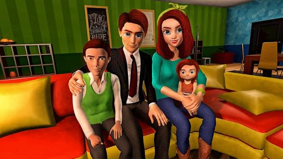 Virtual Mother Game Family Mom Simulator