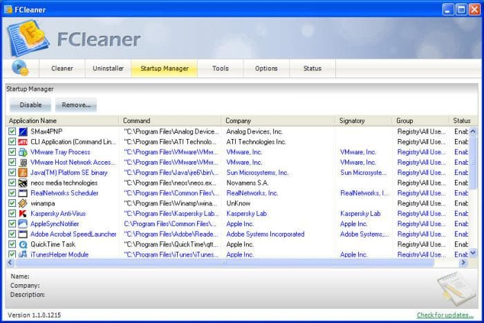 FCleaner - Download