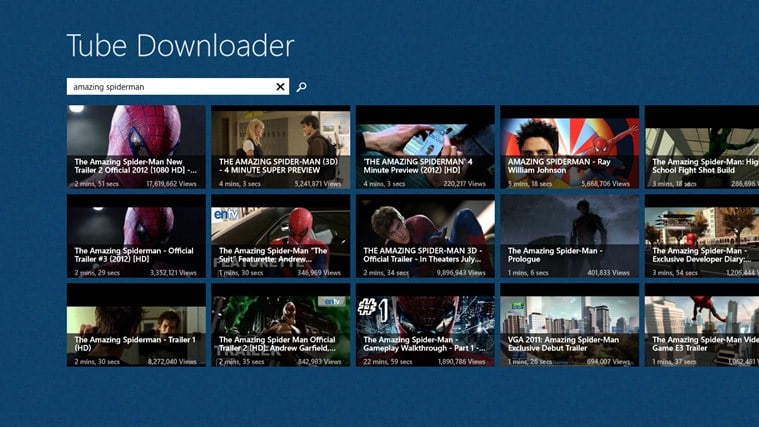 Tube Downloader für Windows 10