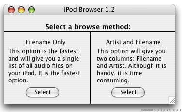 iPod Browser
