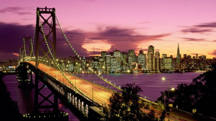 Bay Bridge, San Francisco, California Wallpaper