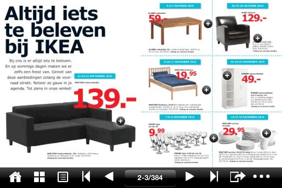 Ikea catalogus voor iphone download for Programma ikea per arredare download