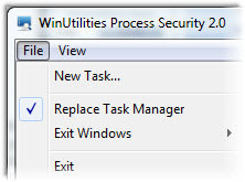 WinUtilities Process Security