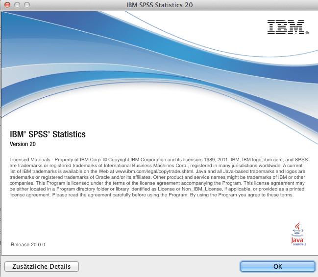 IBM SPSS Statistics Standard