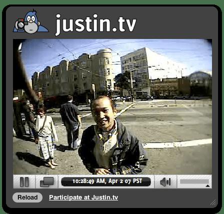 justin.tv Widget