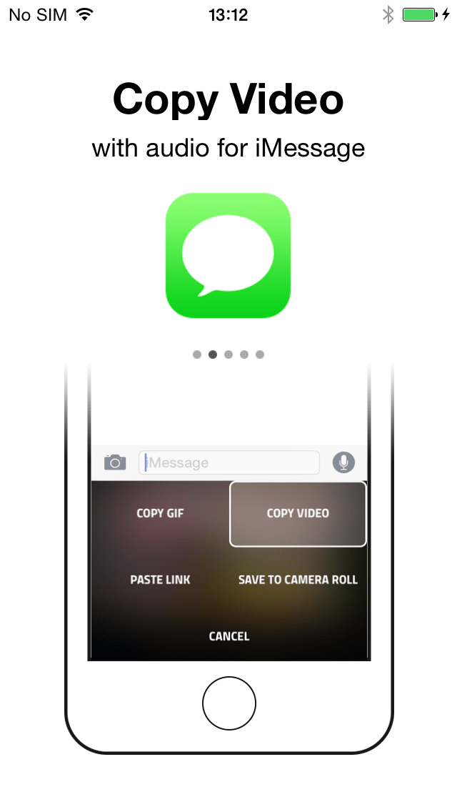 GIF Keyboard for iOS 8