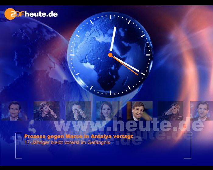 ZDF heute Bildschirmschoner