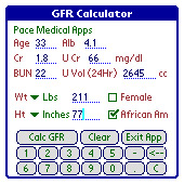 MDRD-Gault GFR Calculator