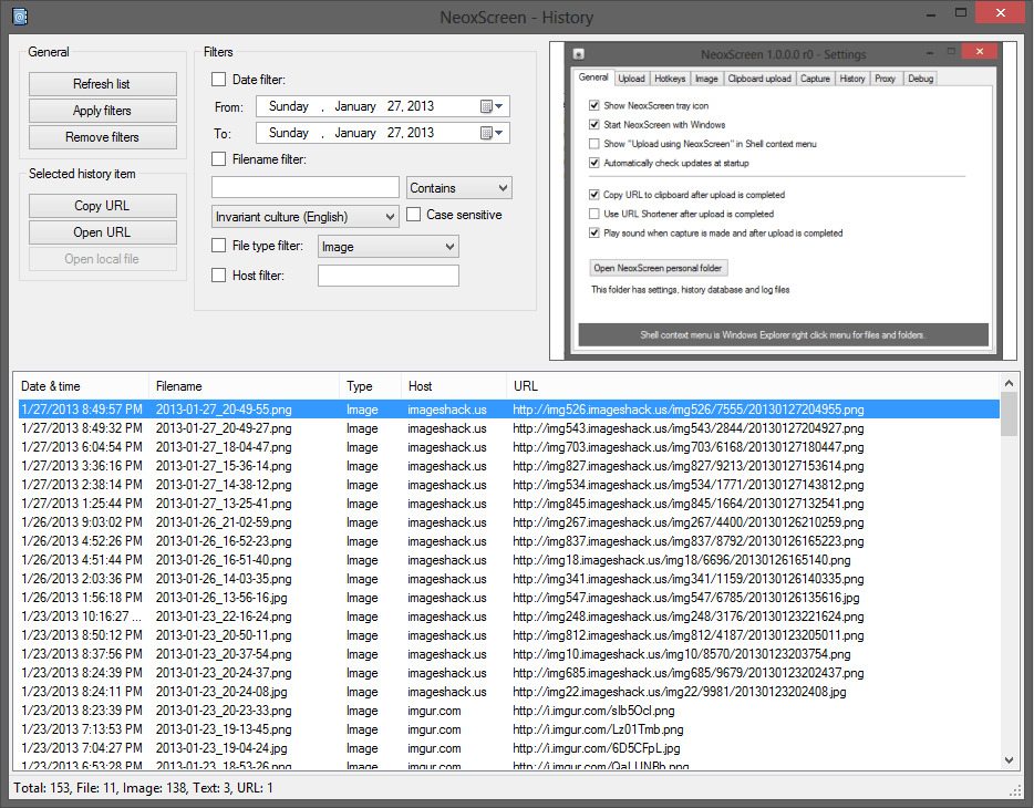 Neox Screen