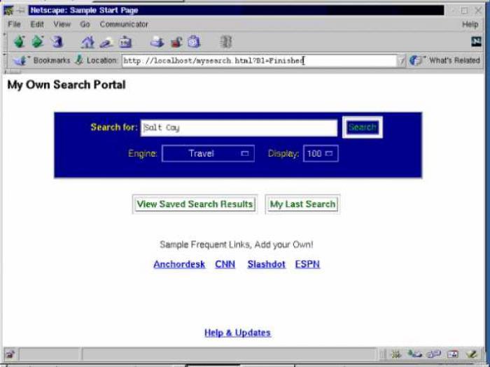 Rover Search Server