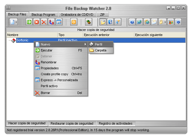 File Backup Watcher
