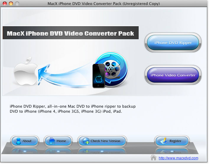 MacX iPhone DVD Video Converter Pack