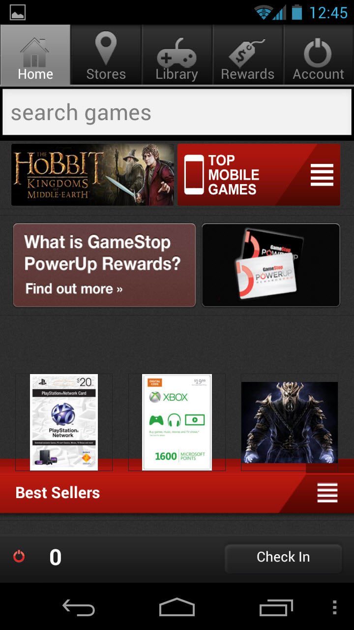 GameStop Mobile Android