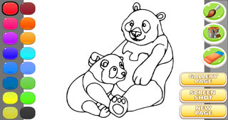 Bear Coloring Book