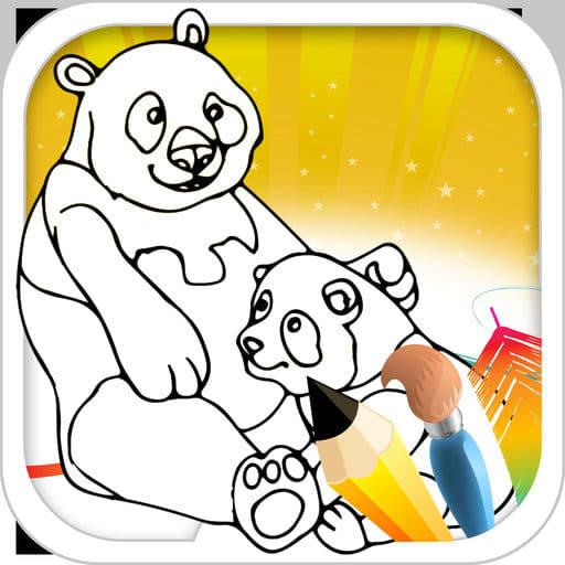 Bear Coloring Book 1
