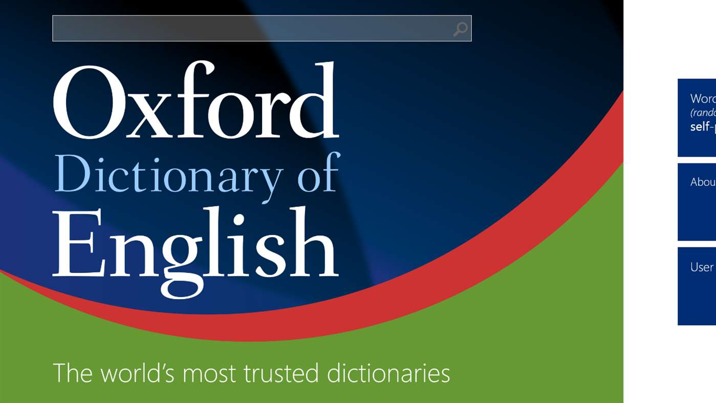 Oxford Dictionary of English - Download