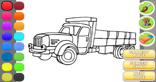 Coloring Book - Ambulance Coloring
