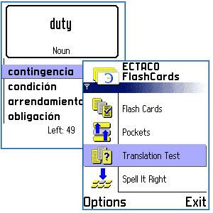 FlashCards SpanishEnglish