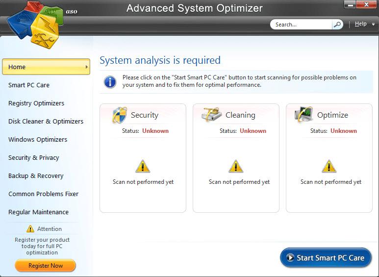 advanced system optimizer cnet download