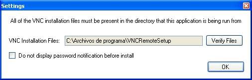 VNC Remote Setup