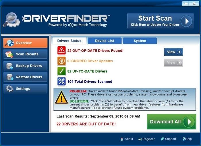 DriverFinder