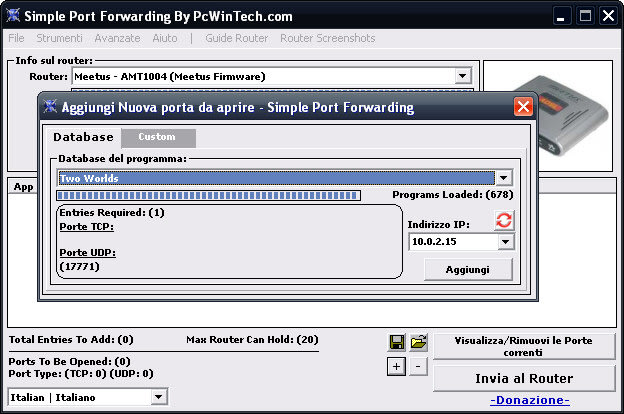 Simple Port Forwarding