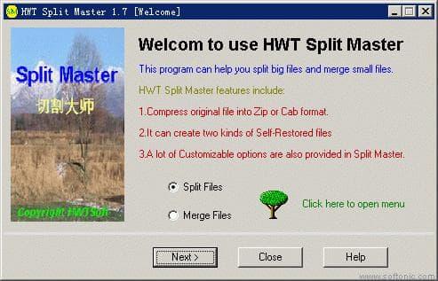 HWT Split Master