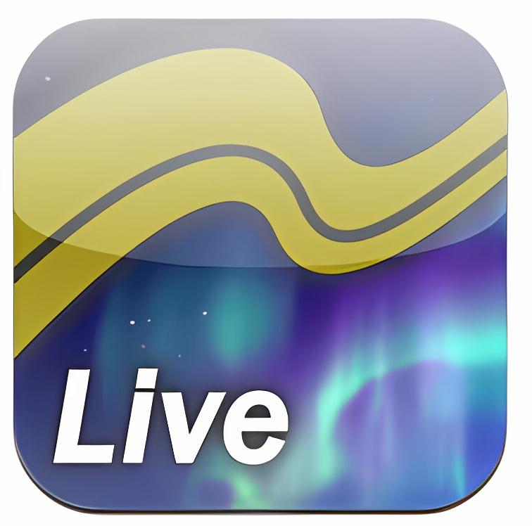 Live!オーロラ for iPhone (アラスカよりオーロラ生中継)