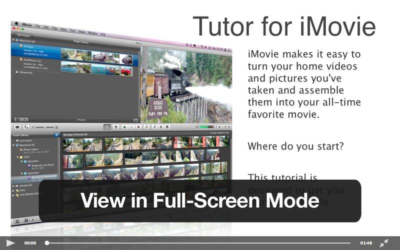 Tutor for iMovie 11