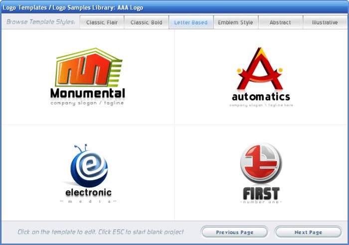 Aaa logo descargar for Logo de empresa gratis