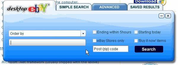 Desktop Ebay