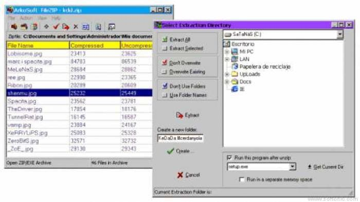 ArkoSoft FileZip