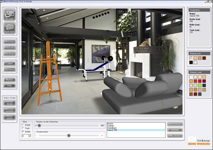 meine wohnung click design download. Black Bedroom Furniture Sets. Home Design Ideas