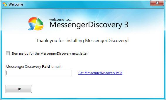 MessengerDiscovery Live