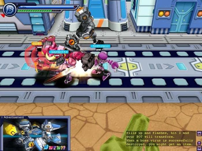 Bots: Acción, diversión y robots en este entretenido juego multijugador