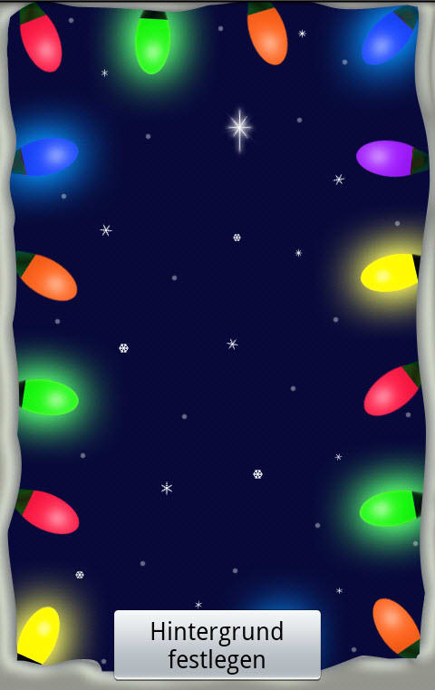 Christmas Lights LiveWallpaper