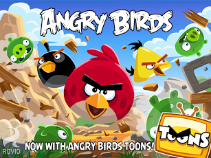 ANGRY BIRDS HD - cover