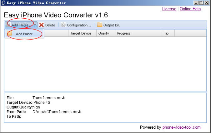 Easy iPhone Video Converter