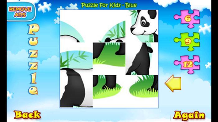 123 Kids Fun PUZZLE BLUE