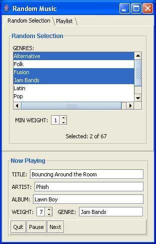 Random Music