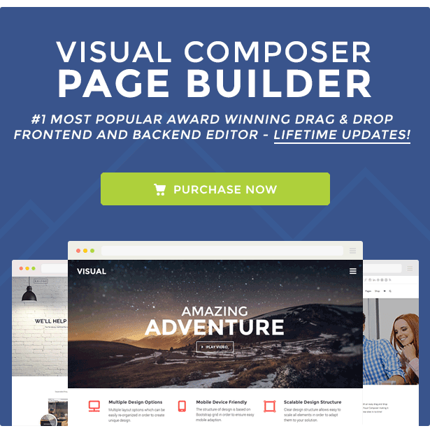 Visual Composer - Page Builder for WordPress