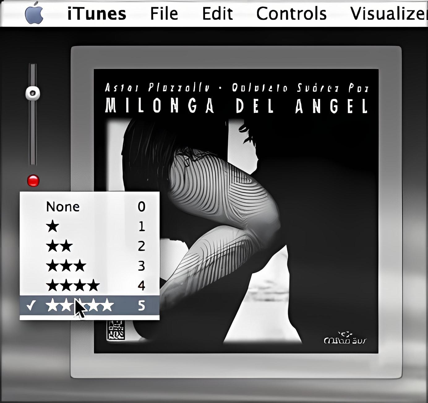 iTunes Volume
