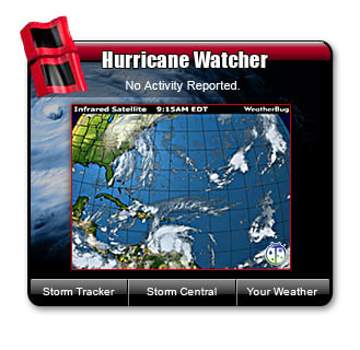 WeatherBug Hurricane Watcher