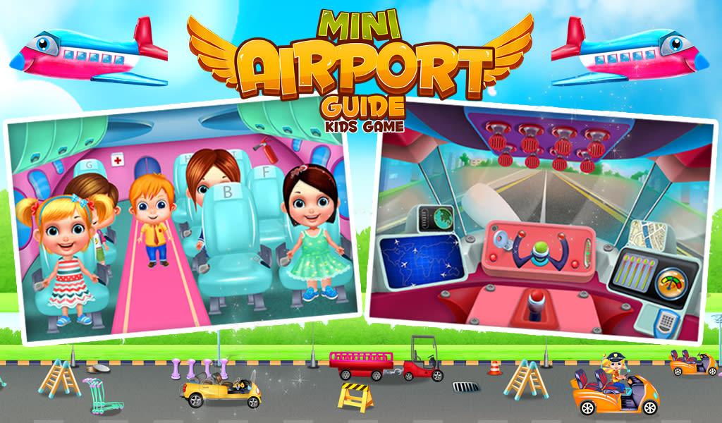 Mini Airport Guide Kids Game