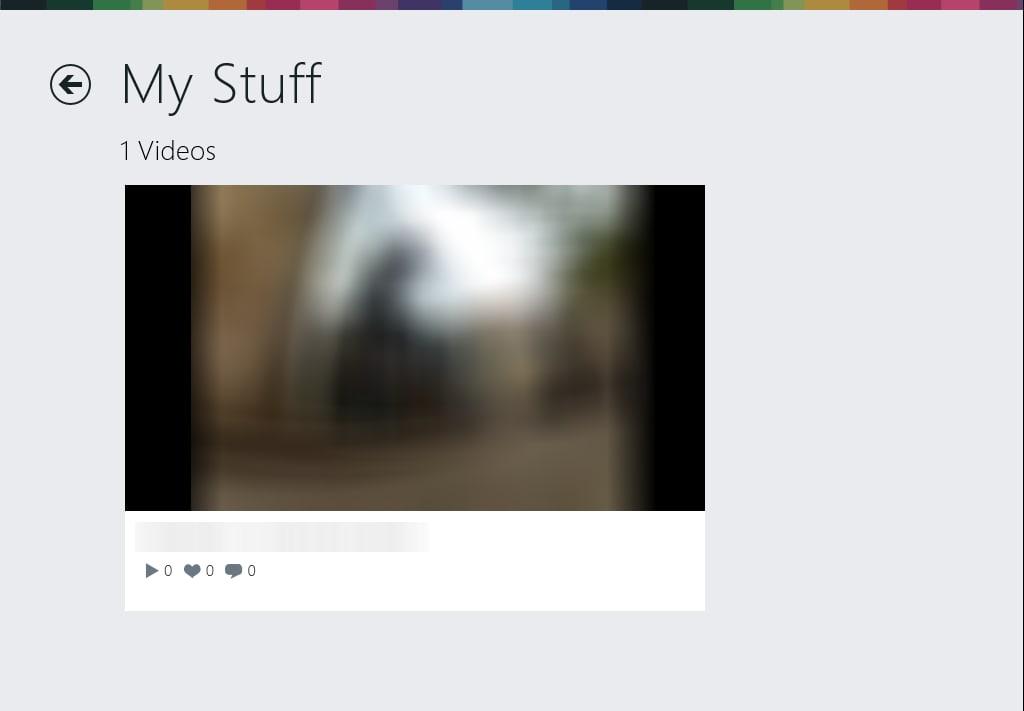 Vimeo pour Windows 10