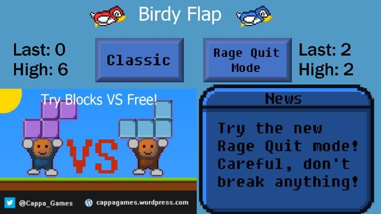 Birdy Flap for Windows 10