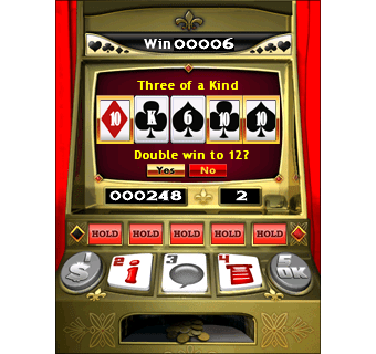 Real Dice Video Poker