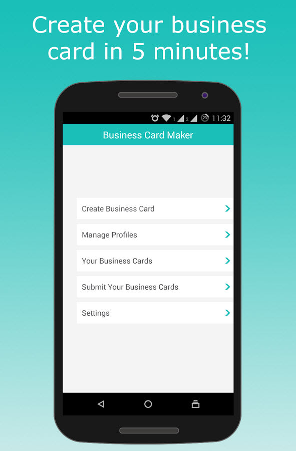 Business card maker creator for android download you may also like reheart Images