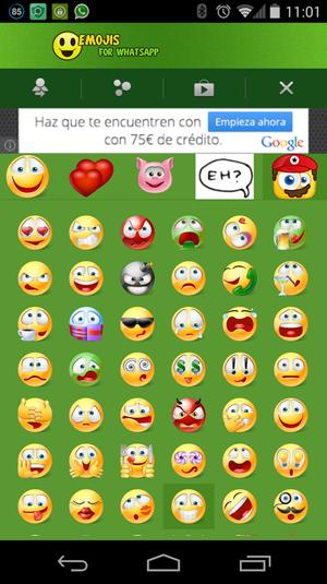 Emoji Emoticons para WhatsApp