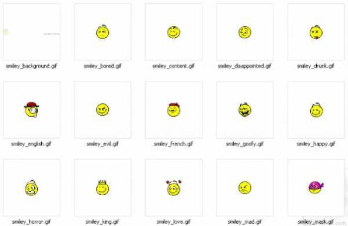 Elouai Smiley faces
